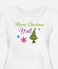 Merry Christmas Yall Plus Size T-Shirt
