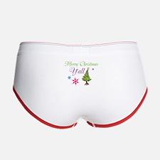 Merry Christmas Yall Women's Boy Brief