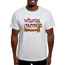 Cute Wiener Mom Cartoon T-Shirt