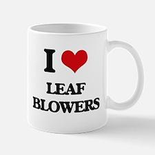 I Love Leaf Blowers Mugs