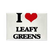 I Love Leafy Greens Magnets