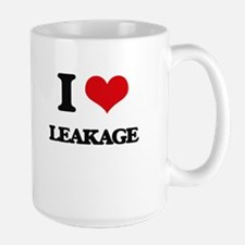 I Love Leakage Mugs