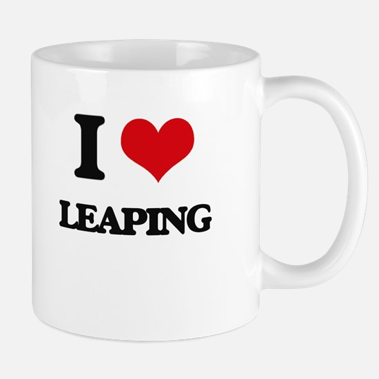 I Love Leaping Mugs