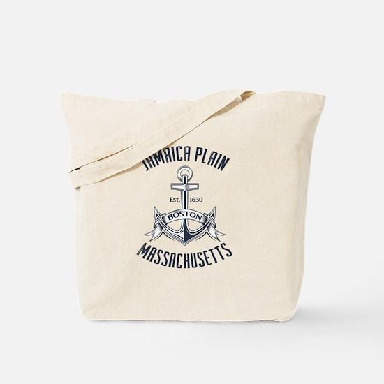 Jamaica Plain, Boston MA Tote Bag