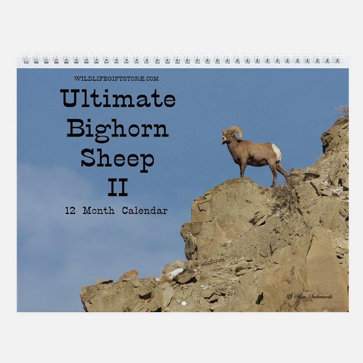 Bighorn Ii Wall Calendar