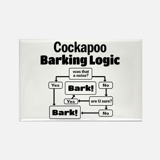 Cute Cockapoo lovers Rectangle Magnet