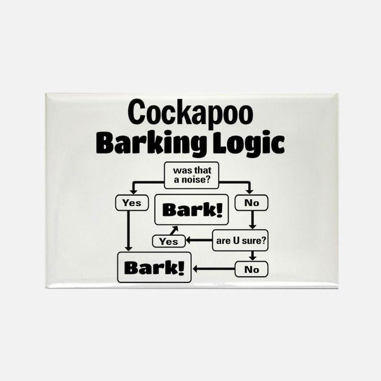 Cute Cockapoo Rectangle Magnet