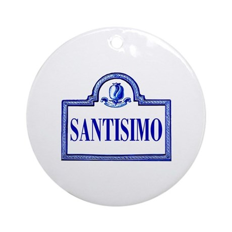 Santísimo, Granada - Spain Ornament (Round)