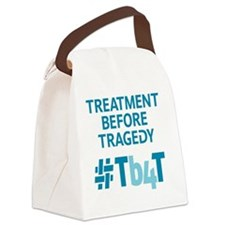 Treatment Before Tragedy Products Canvas Lunch Bag