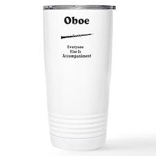 Unique Oboe Travel Mug