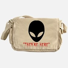 They're Here (Aliens) Messenger Bag
