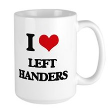 I Love Left Handers Mugs