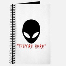 They're Here (aliens) Journal