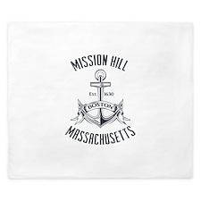 Mission Hill, Boston MA King Duvet
