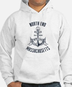North End, Boston MA Hoodie