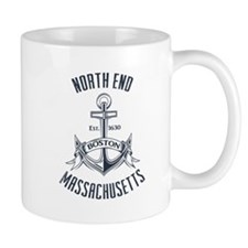 North End, Boston MA Mug
