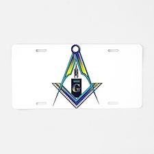 Masons who vape Aluminum License Plate