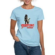 Startling Stories Space Girl Vintage T-Shirt