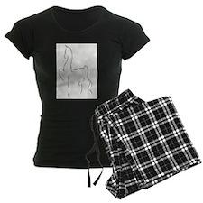 Stylised Saddlebred Pajamas