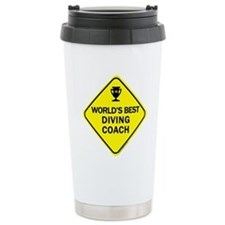 Unique Swim team Travel Mug