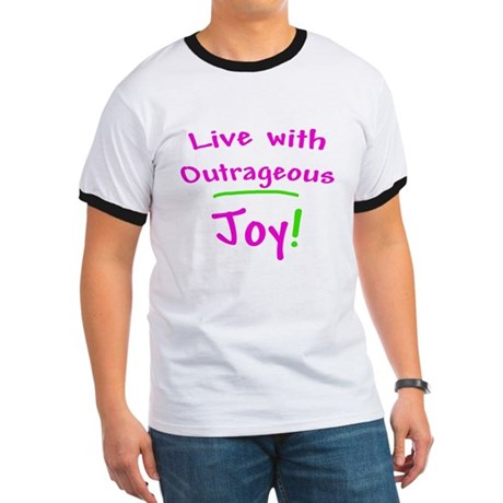 Pink Live With Outrageous Joy Ringer T