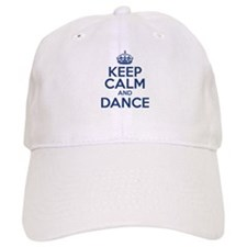Keep Calm And Dance Baseball Cap