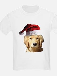 cute golden reriever with a san T-Shirt