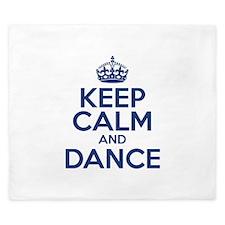 Keep Calm And Dance King Duvet