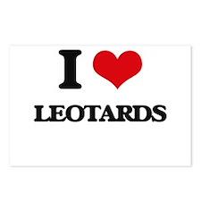 I Love Leotards Postcards (Package of 8)