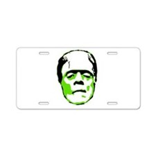 Cute Monster Aluminum License Plate