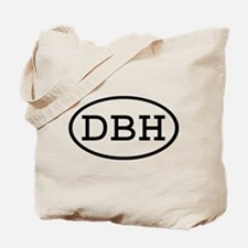DBH Oval Tote Bag
