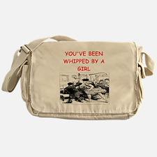whipped Messenger Bag