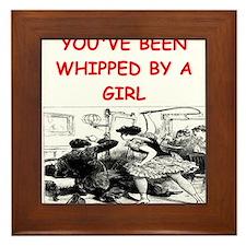 whipped Framed Tile
