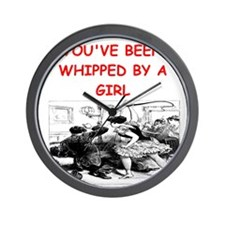 whipped Wall Clock
