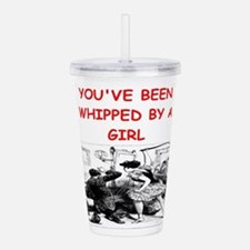 whipped Acrylic Double-wall Tumbler