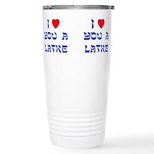 Unique Jewish Stainless Steel Travel Mug
