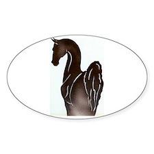 Saddlebred Pose Bumper Stickers