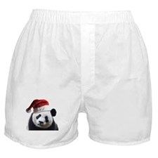 Santa Panda Bear Boxer Shorts