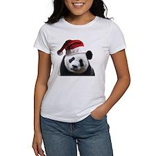 Santa Panda Bear Tee