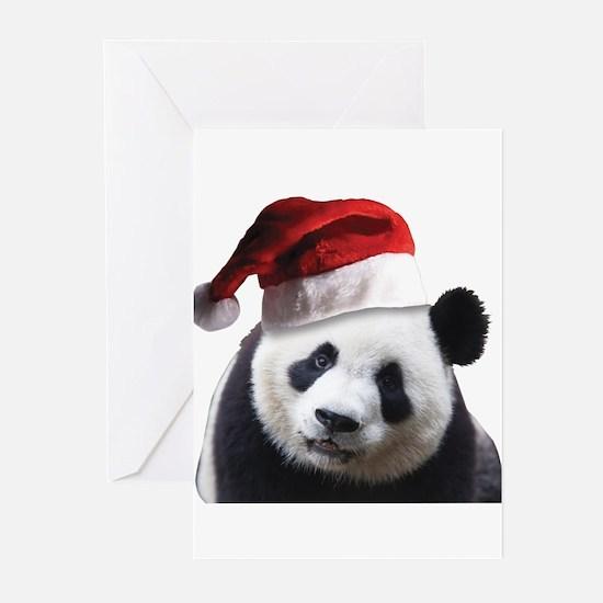 Santa Panda Bear Greeting Cards (Pk of 20)