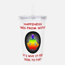 happiness Acrylic Double-wall Tumbler
