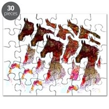 A bunch of Saddlebreds Puzzle