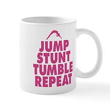 Jump Stunt Tumble Repeat Mugs