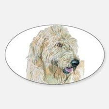 Cream Labradoodle Decal