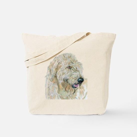 Cream Labradoodle Tote Bag