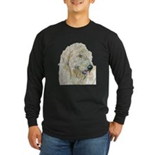 Cream Labradoodle Long Sleeve T-Shirt