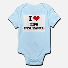I Love Life Insurance Body Suit