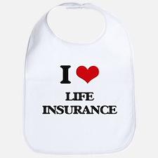 I Love Life Insurance Bib