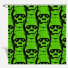 Unique Psychobilly Shower Curtain