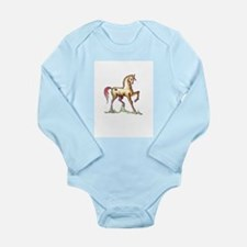 Saddlebred at play Body Suit